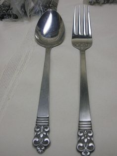 Vtg Flatware 66 pieces forks spoon knife Cambridge Stainless Steel Japan CBS1 #cambridge