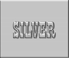 Stock Illustrations of Silver - Typography illustration of the .