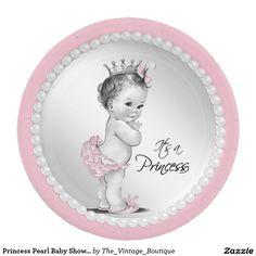 sc 1 st  Pinterest & Ethnic Prince Princess Baby Shower Paper Plate | Princess baby showers