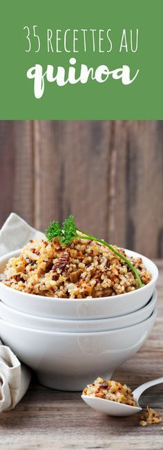 Salades, galettes, steak : 35 recettes au quinoa ! Clean Recipes, Veggie Recipes, Vegetarian Recipes, Cooking Recipes, Healthy Recipes, Healthy Food, Steaks, Batch Cooking, Health And Nutrition