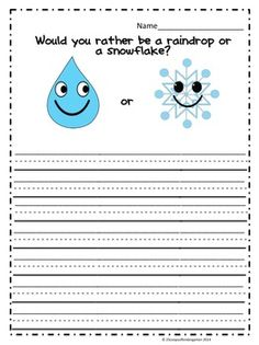 KINDERGARTEN OPINION WRITING COMMON CORE ALIGNED - TeachersPayTeachers.com$