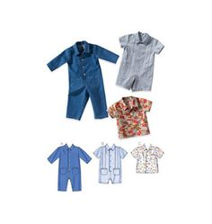 Kwik Sew Sewing Pattern Infants' Overalls and Shirt Baby Overalls, Baby Boy Romper, Kwik Sew Patterns, Clothing Patterns, Suit Pattern, Boiler Suit, Knitting Wool, Baby Sewing, Sew Baby