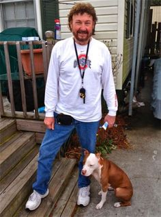 Canine Angels welcomed Harold, a Vietnam veteran from Ocean Isle Beach, into our working service dog program.   Canine Angels and Harold have teamed to train his 1-year-old female pit bull, Kaylie, to become a certified service dog.  Harold is a conscientious and serious student, dedicated to making this sweet pup into the best dog she can be, and he is succeeding admirably.