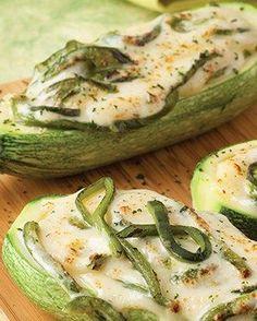 Receta de calabacitas gratinadas con rajas | ¡Simplemente una receta deliciosa! Visita www.cocinavital.mx platillos para todos los días