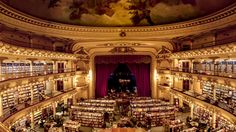 El Ateneo, Buenos Aires (Credit: https://www.flickr.com/photos/23467217@N08/4890091996/in/photolist-8s7ZYY-8q3VRt-8q3Vdc-8q3W92-8q3WA6)