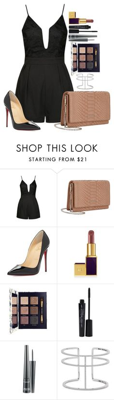 """Untitled #1516"" by fabianarveloc on Polyvore featuring Ally Fashion, Givenchy, Christian Louboutin, Tory Burch, Smashbox, MAC Cosmetics and APM Monaco"