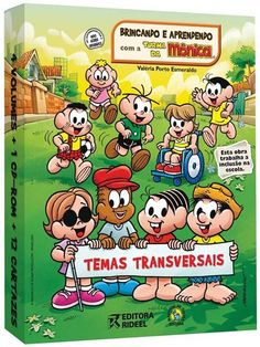 Coleção TEMAS TRANSVERSAIS BRINCANDO E APRENDENDO COM A TURMA DA MONICA - ISBN…