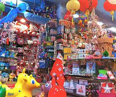 Need to get some holiday shopping done? Check out Toy Joy in Austin, Texas, recently named one of the World's Greatest Toy Stores by Travel+Leisure! Austin's favorite retro toy store lived by the city's guiding philosophy: Keep Austin weird. The store includes a glow-in-the-dark room filled with stars, moons, and animals as well as an undeniably odd lineup of trinkets and tchotchkes.