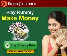 Play Rummy make money at RummyCircle.com.