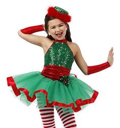 MISS HOLLY Christmas Tutu Dance Costume Ballet Pageant Child & Adult Sizes Christmas Dance Costumes, Halloween Tutu Costumes, Christmas Dress Up, Christmas Pageant, Holly Christmas, Christmas Scenes, Dance Outfits, Kids Outfits, Baby Santa Outfit