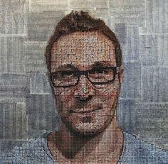 """Nach einer kleinen Pause geht es heute mit grandiosen Schrauben-Gemälden von Andrew Myers weiter. Aus Schrauben und Farbe zaubert er einzigartige Werke, die ich sofort in meinem Wohnzimmer aufhängen würde.    Auch wenn der Name """"Andrew Myers"""" etwas and"""