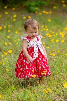 Peppermint Bay Dress - Kinder Kouture  - 1