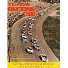 "Fanatics Authentic 18th Annual 1976 Daytona 500 Canvas 36"" x 48"" Program Print - $199.99"