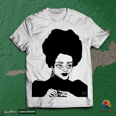 Coretta on Threadless How To Draw Hands, Mens Tops, T Shirt, Products, Fashion, Supreme T Shirt, Moda, Tee, Fashion Styles