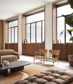 Quincoces-Dragò designs the new layout of the Spotti Milano store - Interior Notes Style Deco, Piece A Vivre, World Of Interiors, Lounge Areas, Home And Living, Interior Architecture, Interior Cladding, Interior Inspiration, Living Spaces