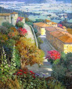 Paintings by Kent R. Wallis