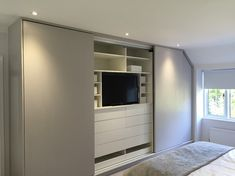 Loft room fitted wardrobes- Florence range