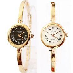 e46faa8cbb9 HOT Free Shipping Luxury Brand GEDI Women Dress Watches Gold Clock Fashion  Casual Ladies Wristwatches Relogio Feminino 2014