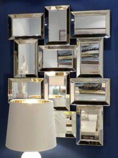 espejos de cristal, espejos modernos, espejos de diseño, espejos de diseño italiano, espejos de pared