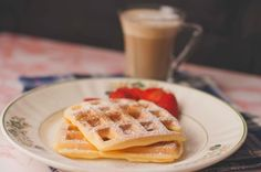 Crepes, Waffles, Sweets Cake, Happy Foods, Healthy Recipes, Food And Drink, Cookies, Breakfast, Wafer Cookies