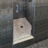 Tile Shower - Schluter-Systems Saw this on Holmes and he uses this system all the time