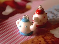 Tea time polymer clay, DIY, fimo
