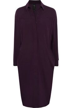Zero+MariaCornejo Manu stretch-silk charmeuse dress | NET-A-PORTER
