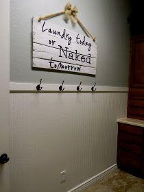 Little Bit of Paint: Laundry Room Fix