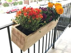 Balcony Rail Planter Box