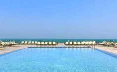 Hotel Mercure Rif Nador's pool, with our UNA deckchairs, by SerraydelaRocha.  Piscina del Hotel Mercure Rif Nador, en Marruecos, con nuestras tumbonas UNA, by SerraydelaRocha.