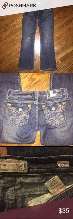 Women's MEK Denim jeans...Size 26 Women's MEK Denim jeans...Boulder style...Size 26 from a smoke free home! MEK Jeans