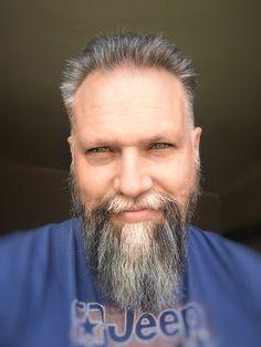 My salt 'n peppa beard is coming on nicely now.