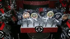 WWE Cake Pops by Cie Sincerely Yours, Juana