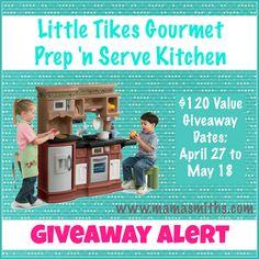 Little Tikes Kitchen Giveaway!