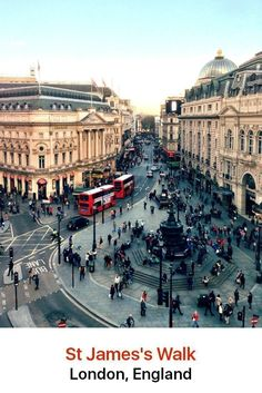 St. James is a very upmarket and traditional part of London, a stylish place where you can enjoy West End Theater productions and find fabulous fashions for men.