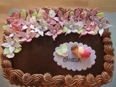 Daniela - Punaherukka- ja suklaamousse, suklaakakkupohja