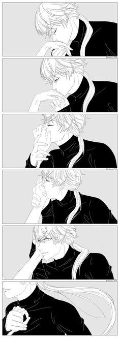 Kisses from ZEN by MoonDaran. It's way too sweet >.<