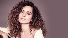 Kangana Ranaut Curly Hair Curled Hairstyles, Easy Hairstyles, Curly Girl Method, Hair Styles 2016, Independent Women, Natural Curls, Crazy Hair, Hair Care Tips, Beauty Trends