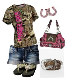 Designer Clothes, Shoes & Bags for Women Country Style Outfits, Country Wear, Country Girl Style, Country Fashion, My Style, Country Life, Country Quotes, Country Music, Camo Outfits