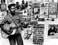 Reggae Scrapbook: Joe Higgs pg 22 1982 Photo - Bob Marley and Beyond: Reggae in the Seventies and Early Eighties   Rolling Stone