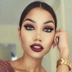 Matte Lipstick Makeup Looks from Instagram I Loved
