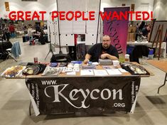 Keycon 36 is looking for a few more great people to help man our table at Ai-Kon! Please send an email with your name, availability, past…