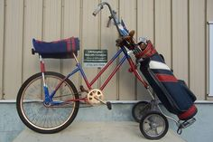 yes the Golf bag bicycle :o)