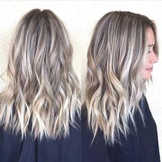 Babylights and lowlights. Color by Babylights and lowlights. Ombre Hair Color, Hair Color Balayage, Reverse Balayage, Babylights Blonde, Hair Highlights And Lowlights, Highlight And Lowlights, Brunette Hair Cuts, Low Lights Hair, Langer Bob