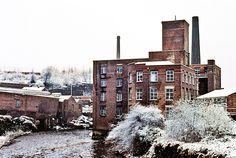 "1981. ""Mill"" at Stockport, Lancashire."
