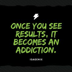 Once you see results, it becomes an addiction. #motivation #lifestyle #healthy…