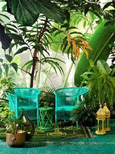 jungle style decor