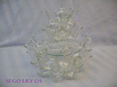 Lot # : 227 - Vintage Multiple Bud Vase