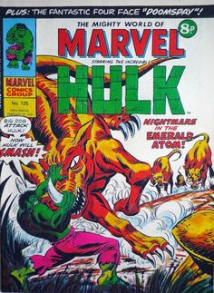 Mighty World of Marvel #125, Hulk