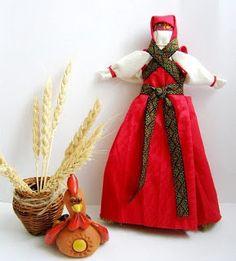 Славянские куклы-обереги  Метлушка